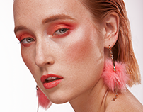 Pink Girl - Beauty Retouch