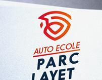 Création logo auto école, Saint-Laurent - du var, looly