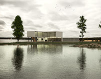 Archviz villa project render Corona