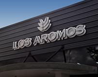 Los Aromos - Diseño de marca y piezas gráficas