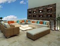 modern terrace for G-design