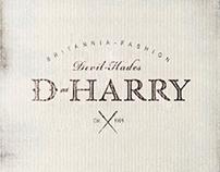 d-harry服装品牌设计