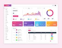 Analytics Admin UI Design