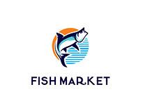 """Fish market"" social media posters"