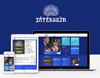 Játékszín website - 2016