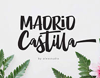 MADRID Castilla - Clean Handlettered Font