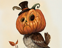 Pumpkin Sparrow Series