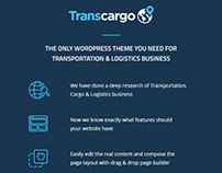Transcargo - Logistics & Transportation WP Theme