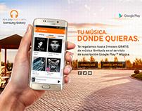 Site Google Play Music / Samsung