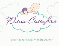 Logo for newborn photographer