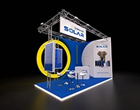 BRUK-BET SOLAR exhibition stand