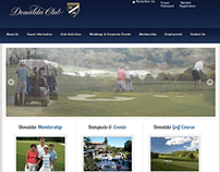 Web Design & Development for Donalda Club
