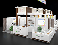 Korean Pavilion Exhibition Design @Gulfood 2017