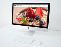Website Design: Pro Meal Prep