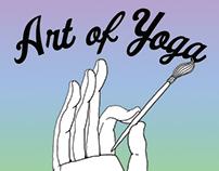 Art of Yoga Logo Design
