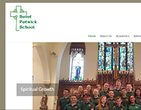Website for St Patrick's School Stoneham