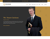 Kachari - Personal Lawyer Bootstrap4 Template
