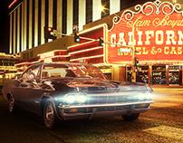 Chevrolet Impala 1965 - 3D render
