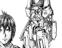 Knights of Sidonia | Nagate Kanikaze & T18 | Manga