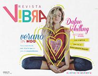 Diseño editorial - Revista V!bra