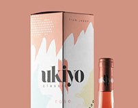 ukiyo wine - packaging
