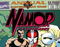 Namor - Marvel Comics - Penciller