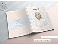 LUCIE MARBLE Magazine