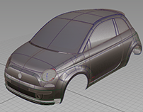 2015 - Fiat 500 Process A-Class/Mesh Fitting