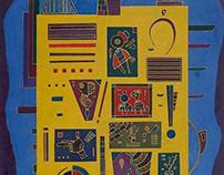 Wassily Kandinsky, Conglomerat, 1943