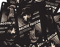 THE MALTESE FALCON Playing Card | HERO COMPLEX GALLERY