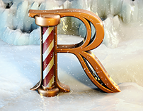 3D Type Experiment - Christmas