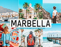 Free Marbella Mobile & Desktop Lightroom Presets