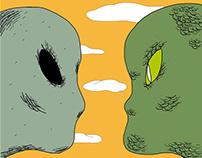 COMPLETA: El marciano y el reptil por Jorge Quien.
