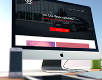 Audi Corporate Landing Page