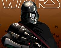 Star Wars The Force Awakens - Captain Phasma Poster
