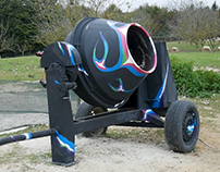 Painting - Cement Mixer