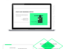 Smarter- Perfume shop creative web template