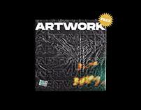FREE plastic album cover mockup!