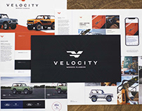 Velocity Restorations Branding