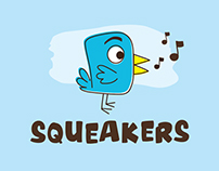 Squeakers Corporate Identity