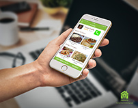 Homely (Home-made Food Ordering App)