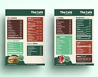 Stechford Cascades - Café Menu