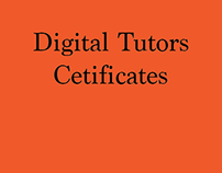Digital Tutors Certificates