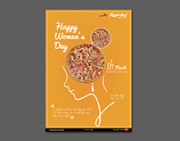 PIZZA HUT women's day offer