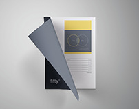 Curled A4 Paper Mockup - PSD