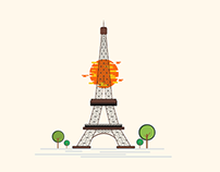 Eiffel Tower - Illustration