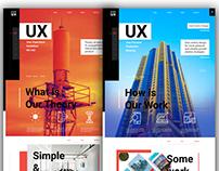 Prime UX Studio #Website