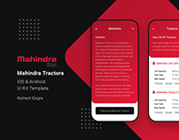Mahindra Tractors application UX