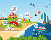 My Abu Dhabi Holidays Infographic