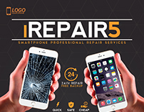 Smartphone Repair 5 Flyer/Poster